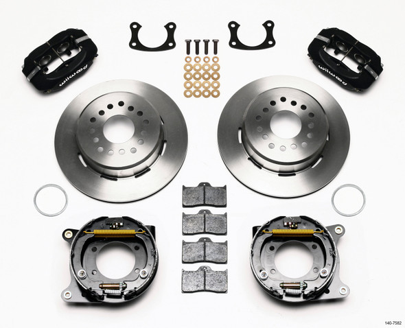 Wilwood Forged Dynalite P/S Park Brake Kit New Big Ford 2.36in Offset