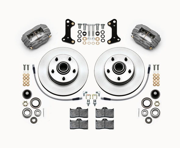 Wilwood Forged Dynalite-M Front Kit 11.00in 1 PC Rotor&Hub 67-69 Camaro 64-72 Nova Chevelle