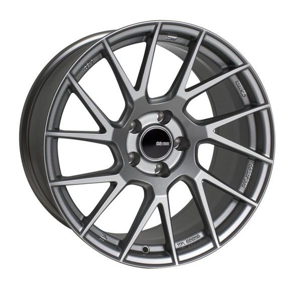 Enkei TM7 17x8.0 5x114.3 45mm Offset 72.6mm Bore Gloss Black Wheel