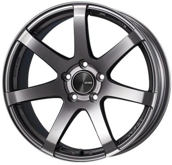 Enkei PF07 19x10 5x114.3 40mm Offset 75mm Bore Dark Silver Wheel *Special Order/No Cancel*