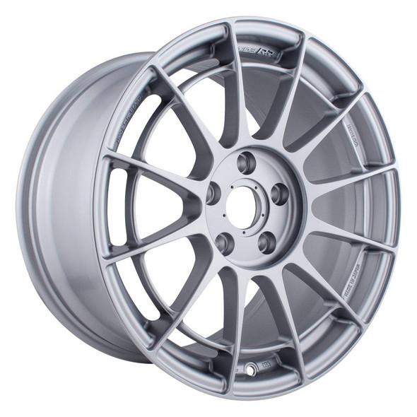 Enkei NT03RR 17x9 5x114.3 45mm Offset 75mm Bore - Silver Paint Wheel