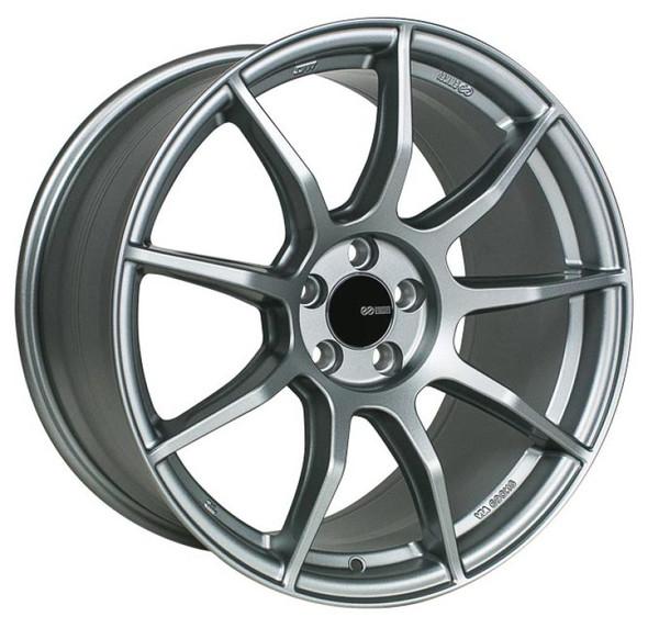 Enkei TS9 17x8 5x114.3 Bolt Pattern 35mm Offset 72.6mm Bore - Platinum Grey Wheel (SPECIAL ORDER)