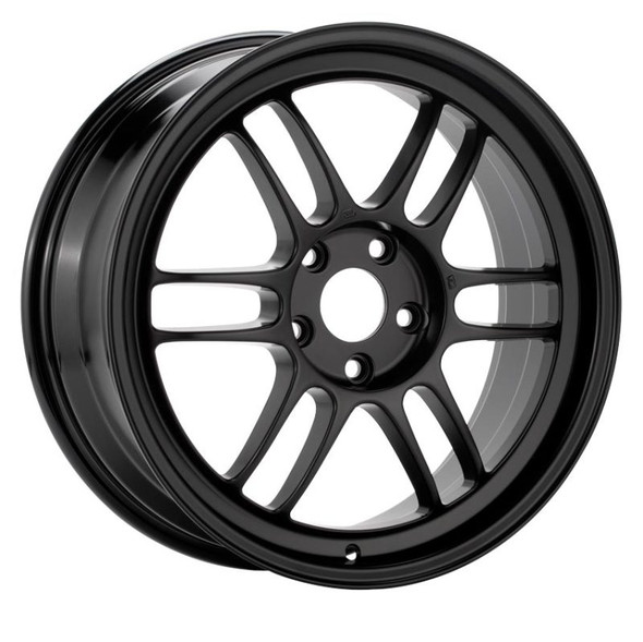 Enkei RPF1 17x8.5 5x114.3 30mm Offset 73mm Bore Matte Black Wheel  Evo 8/9