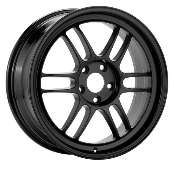 Enkei RPF1 17x8 5x114.3 35mm Offset 76mm Bore Matte Black Wheel Evo 8/9