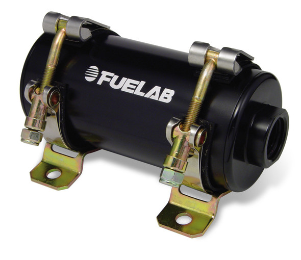Fuelab Prodigy Reduced Size EFI In-Line Fuel Pump - 700 HP - Black