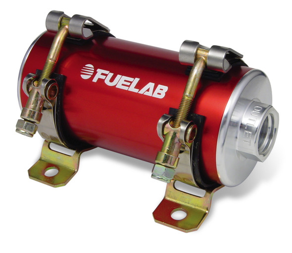 Fuelab Prodigy Reduced Size EFI In-Line Fuel Pump - 700 HP - Red