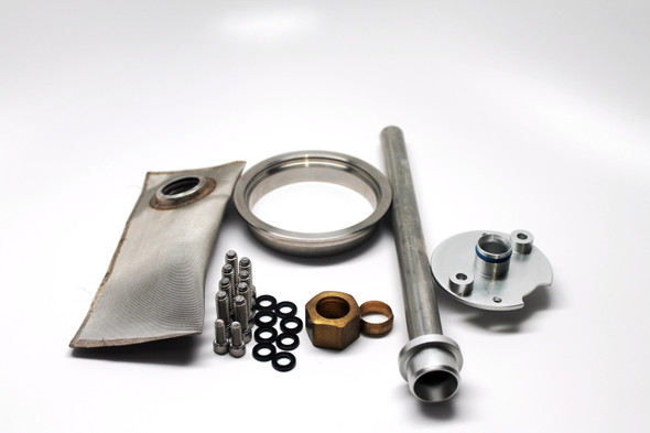 Fuelab Prodigy Stainless Weldable Flange In-Tank Power Module Installation Kit for Fabricator Series