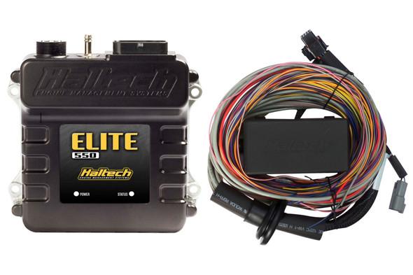 Haltech Elite 550 Premium Universal Wire-In Harness ECU Kit