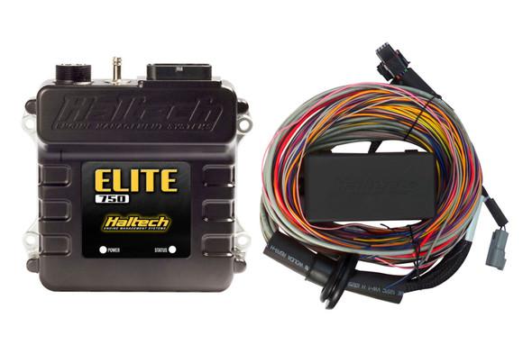 Haltech Elite 750 Premium Universal Wire-In Harness ECU Kit