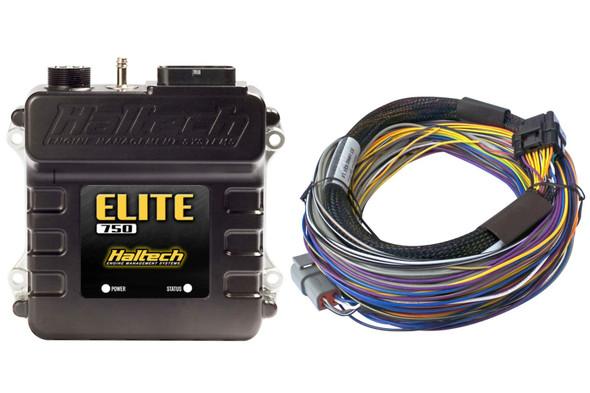 Haltech Elite 750 Basic Universal Wire-In Harness ECU Kit