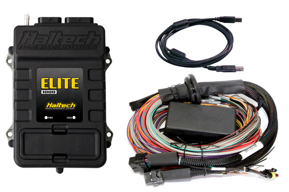 Haltech Elite 1000 Premium Universal Wire-In Harness ECU Kit