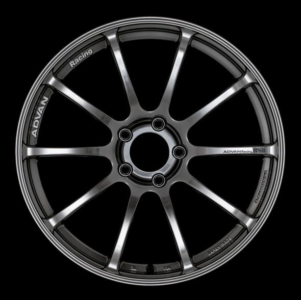 Advan RSII 18x9.5 +45 5-114.3 Racing Hyper Black Wheel