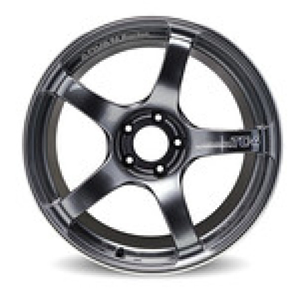 Advan TC4 17x9 +63 5x114.3 Racing Black Gunmetallic and Ring Wheel