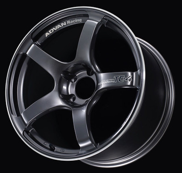 Advan TC4 17x8.0 +38 5-114.3 Racing Gunmetallic & Ring Wheel