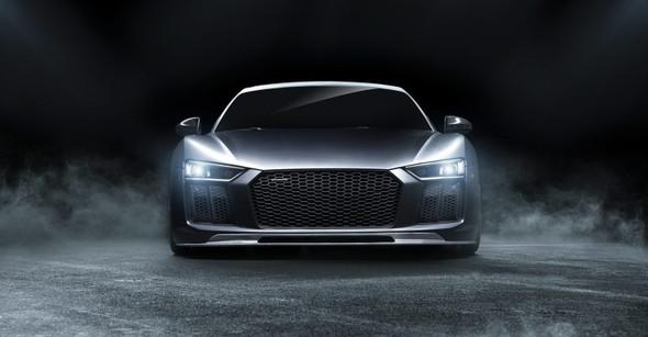 Vorsteiner 2017+ Audi R8 VRS Aero Front Spoiler Carbon Fiber PP 2x2 Glossy