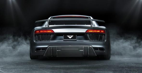 Vorsteiner 2017+ Audi R8 VRS Aero Rear Diffuser Carbon Fiber PP 2x2 Glossy