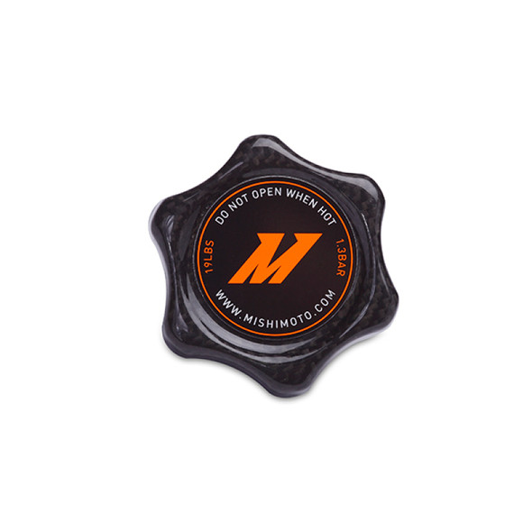 Mishimoto 1.3 Bar Rated Carbon Fiber Radiator Cap Small Import