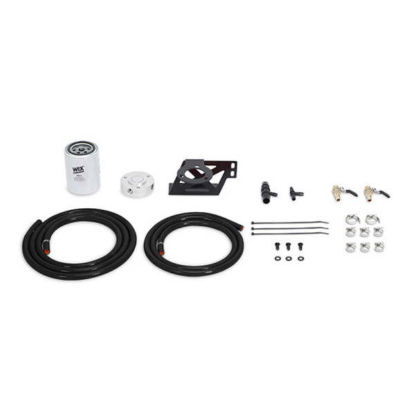 Mishimoto 08-10 Ford 6.4L Powerstroke Coolant Filtration Kit - Black