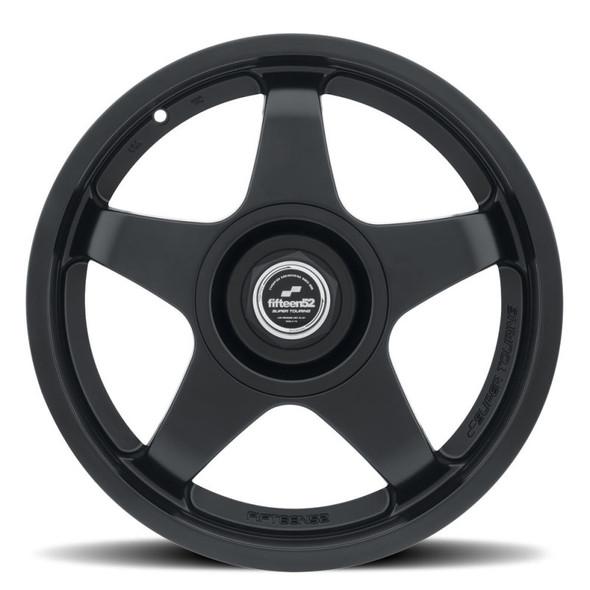 fifteen52 Chicane 17x7.5 4x100/4x98 35mm ET 73.1mm Center Bore Asphalt Black Wheel