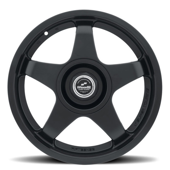 fifteen52 Chicane 18x8.5 5x120/5x114.3 35mm ET 73.1mm Center Bore Asphalt Black Wheel