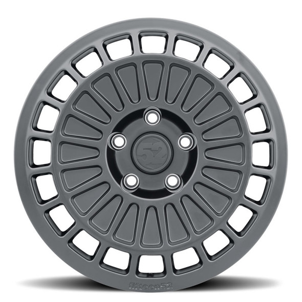 fifteen52 Integrale Gravel 15x7 5x100 15mm ET 56.1mm Center Bore Asphalt Black Wheel