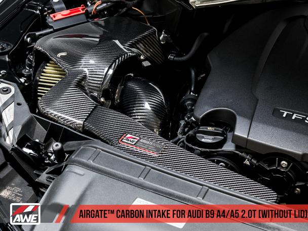 AWE Tuning Audi B9 S4/S5 3.0T Carbon Fiber AirGate Intake w/o Lid