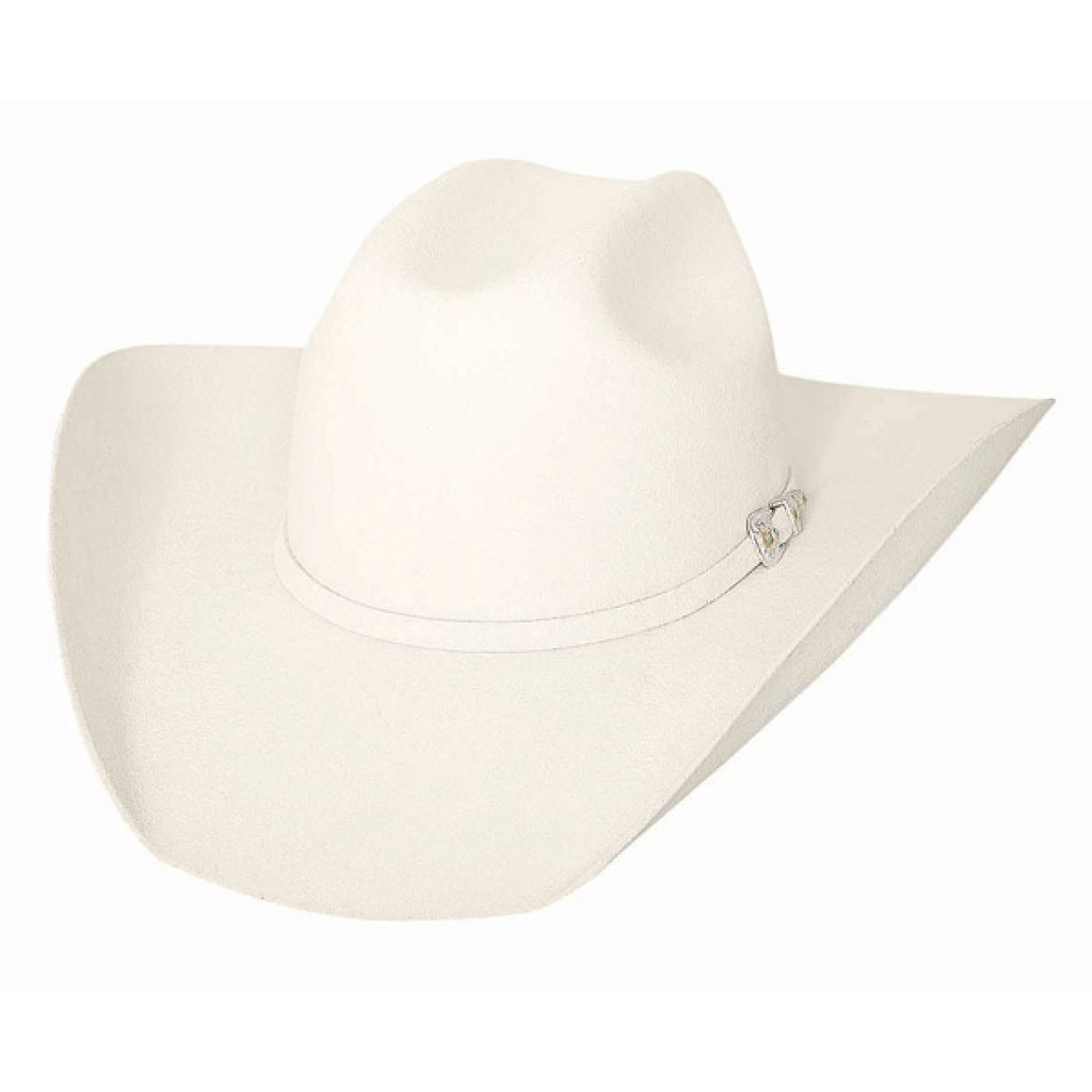 Bright White Wool Cowboy Hat