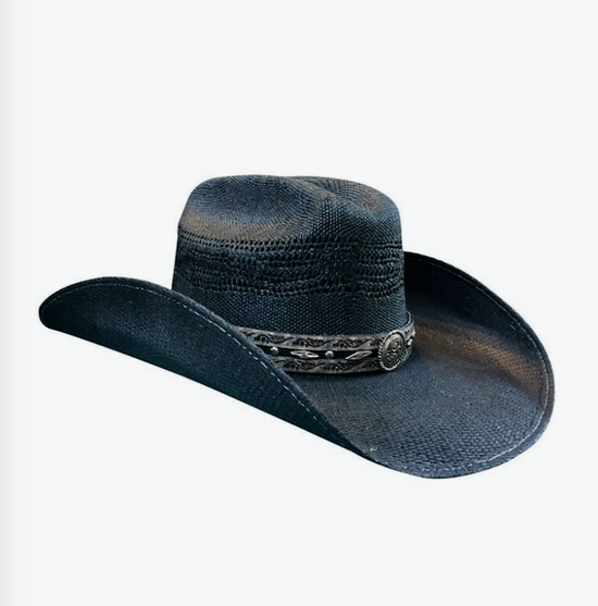 Black Corral Dust Straw Hat
