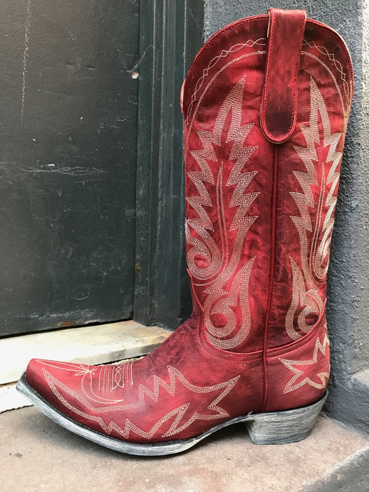 Red Nevada Boot