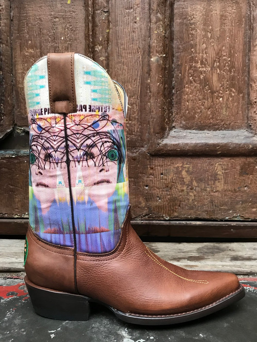 Planet Cowboy/Theda Artist Collection Boot