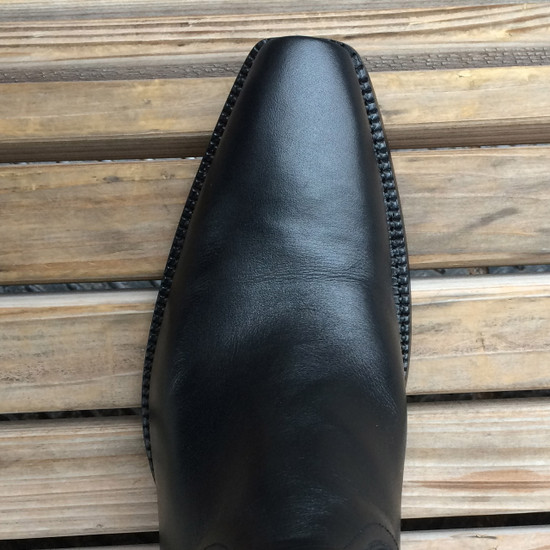 Custom Black French Calf