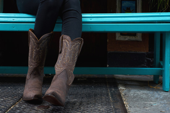 Dark Chocolate Cowgirl  Boot