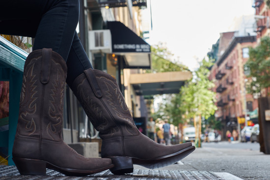 Woman's Chocolate Cowgirl  Boot