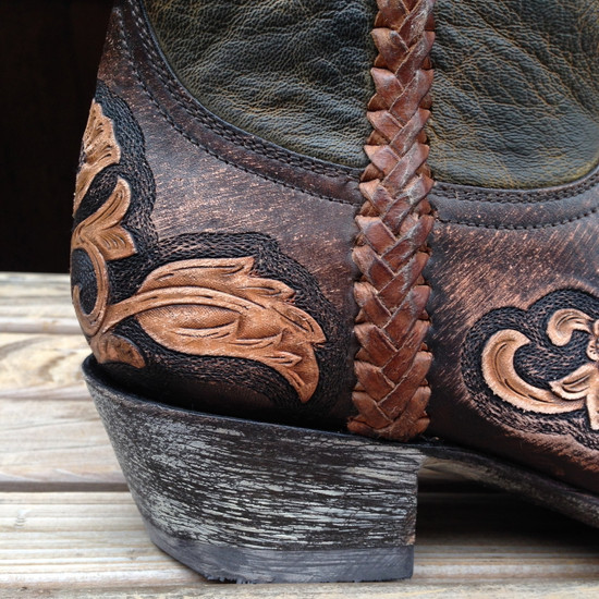 Sonia Hand Tooled Boots