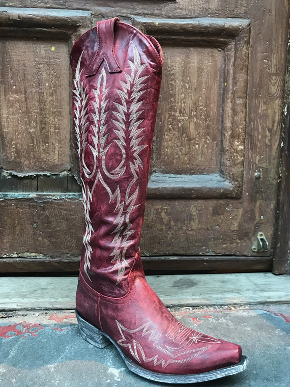 Old Gringo Mayra Red Knee High Boot
