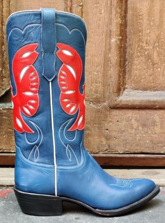 Red Eagle Blue Boots