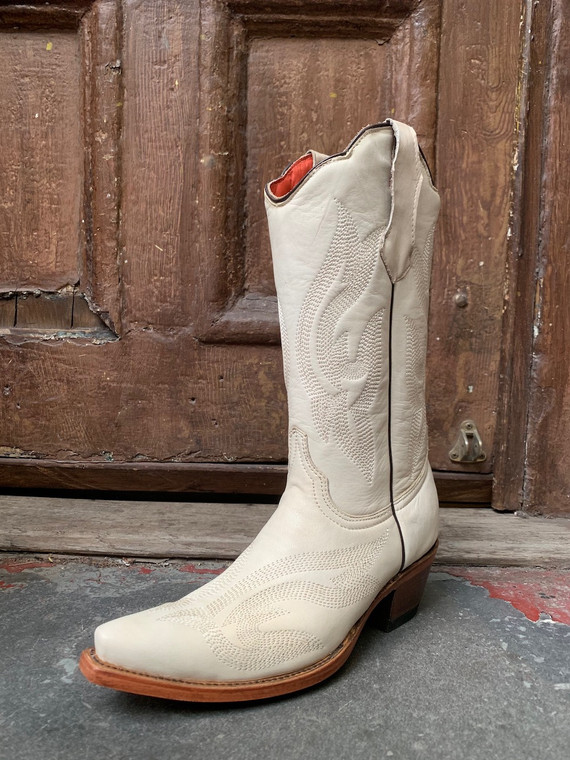Co-Co-Nuts White Boots