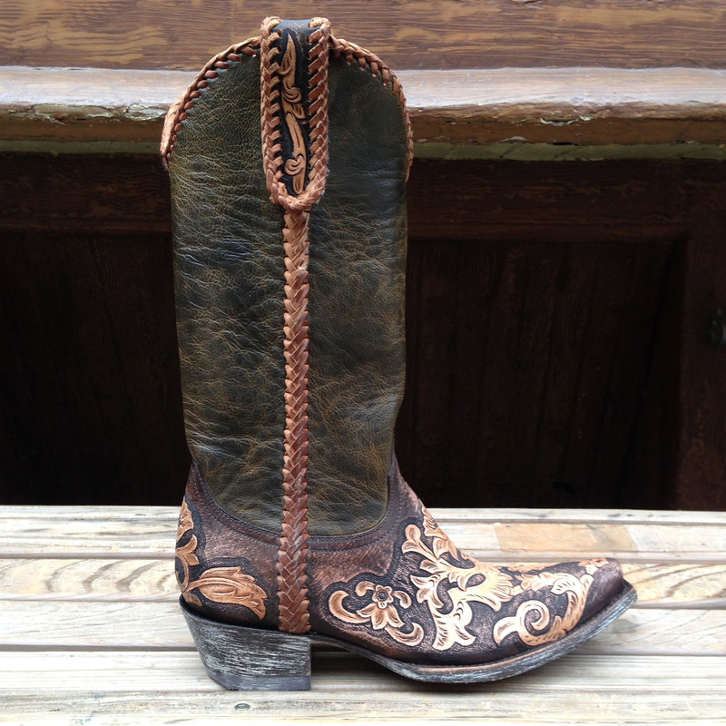Old Gringo Sonia Hand Tooled Boots