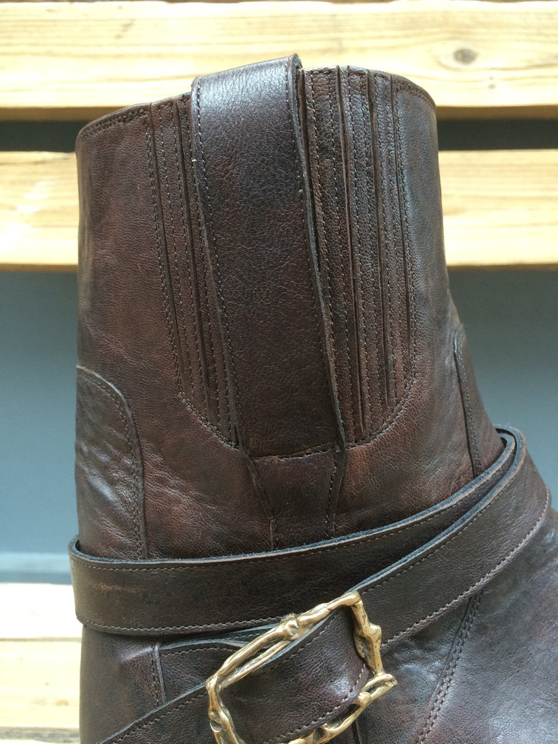 Urban Boot with Strap and Buckle
