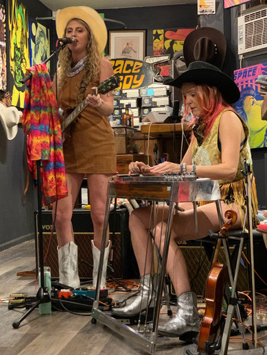 ​#WhereWillYourBootsTakeYou: Planet Cowboy Presents Katie & Andrea Acid American NYC Live Music Gig