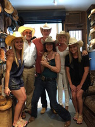 American Hat Co. Family Stops In