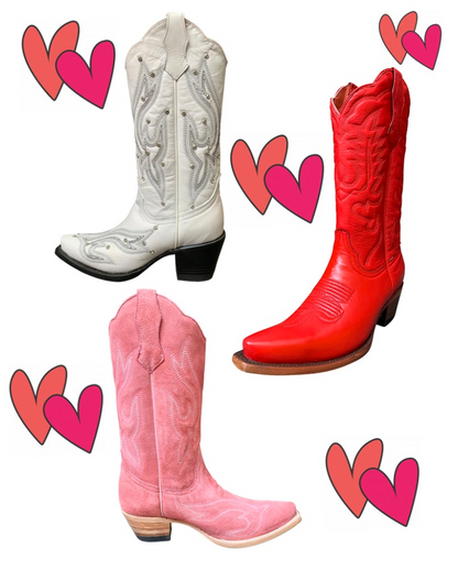 Valentines Day Favorite Boot from Planet Cowboy