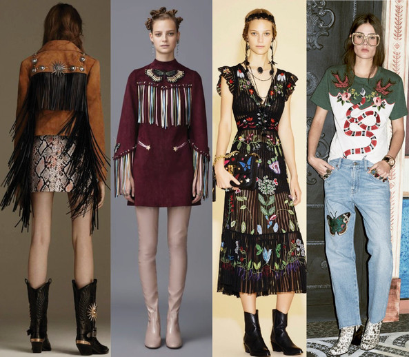 Forever Western: Fall 2016 Fashion Trends