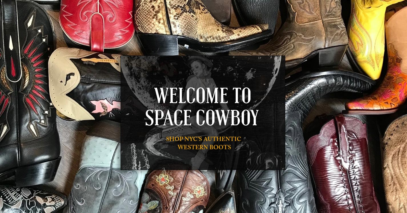 11b2187e68a Space Cowboy Boots, New York's Premier Western Boot Store in Nolita. }