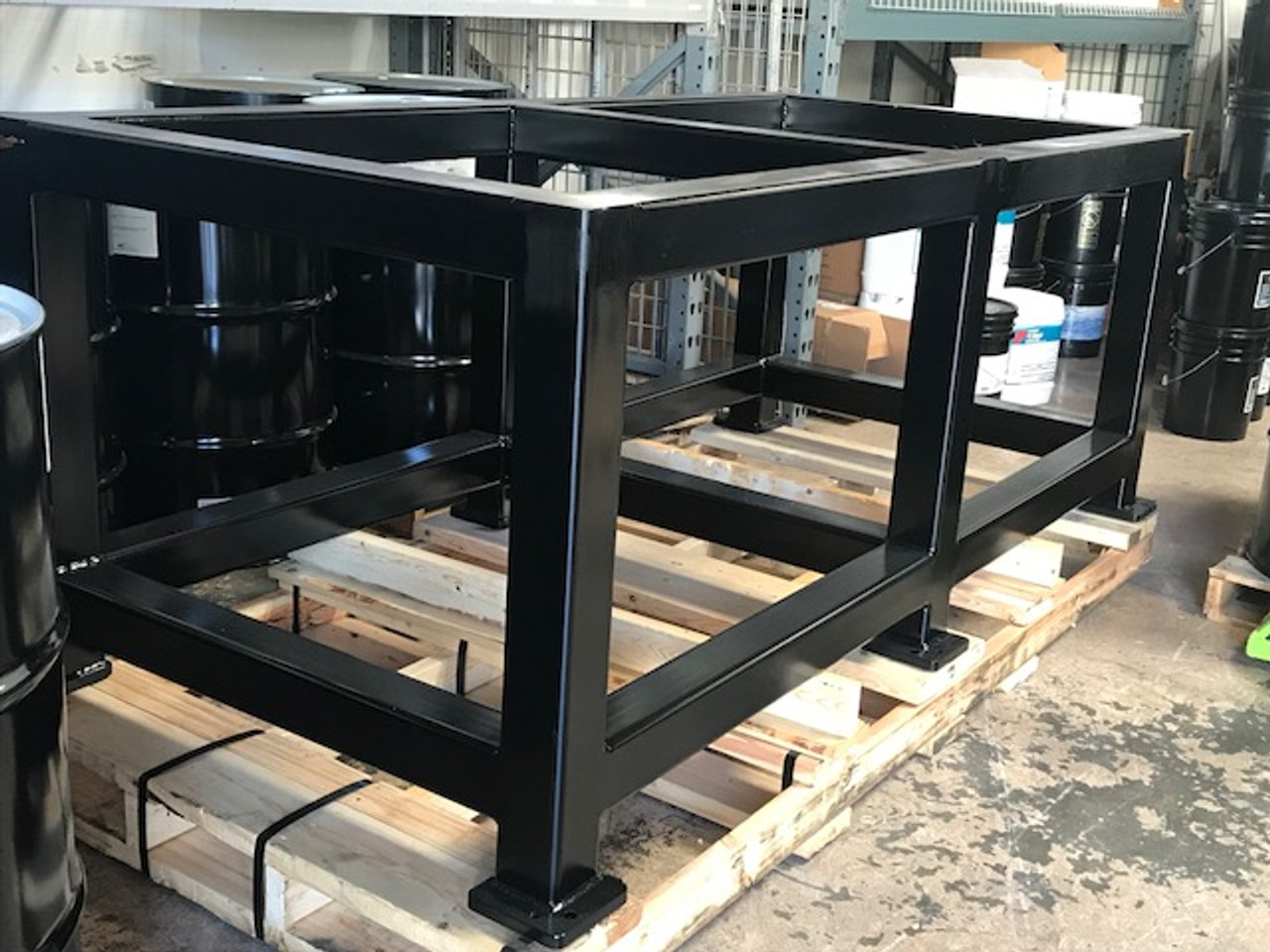 The MB Series Of Machine Bases Are Custom Fabricated For Build Pro and Seigmund Welding Plates