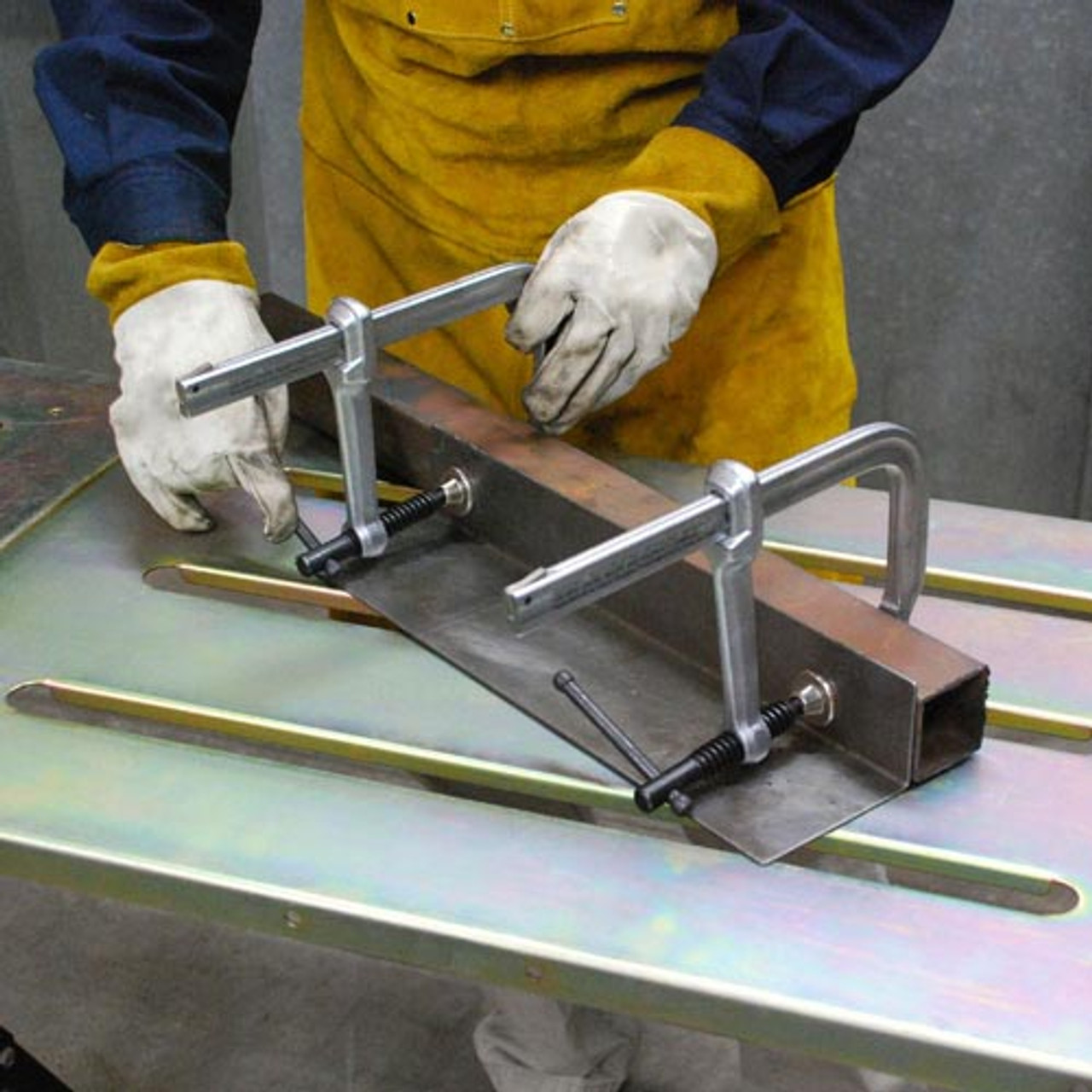 "2400 Lb Clamping Pressure Utility Clamps From 6.5"" to 42"" Length"