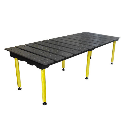 "Build Pro 48"" x 96"" Slotted Welding Table"