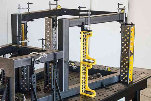 "Build Pro Riser Blocks can be stacked for support up to 36"" off the table surface"