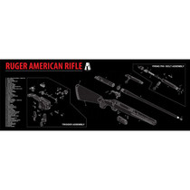 Ruger American Rifle Cleaning Mat