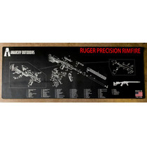 Ruger Precision Rimfire Cleaning Mat by Anarchy Outdoors
